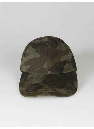 Colin's Colin'S Modern Fit Asker Detaylı  Erkek Şapka Haki